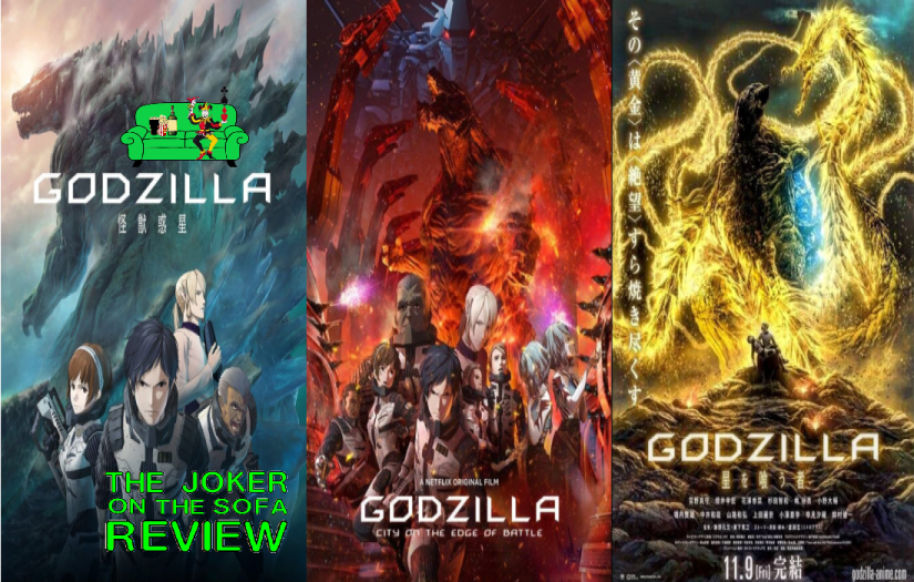 Netflix Review – The Godzilla Trilogy (Planet of the Monsters, City on the Edge of Battle, The PlanetEater)