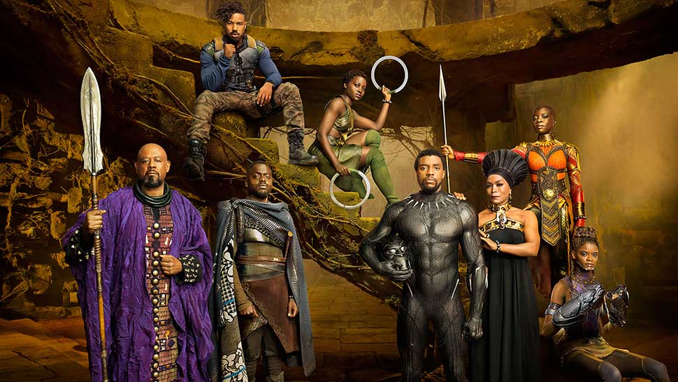 BlackPanther - 4Costumes
