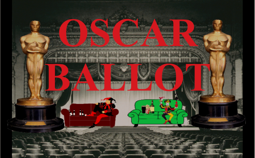 The Grouch's Oscar Ballot