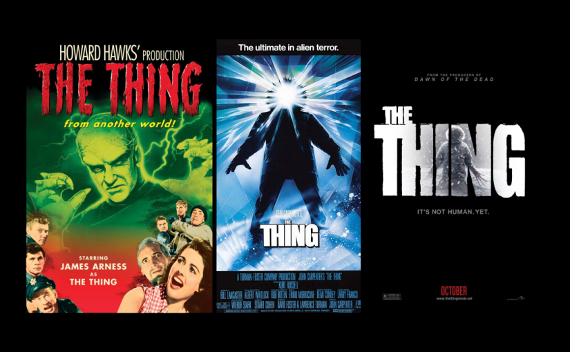 13 Reviews of Halloween: The Things (The Thing from Another World, John Carpenter's The Thing, The Thing (2011))