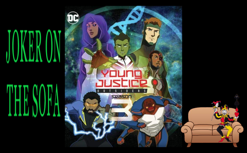 Young Justice: Outsiders (Season 3) : A Bit Too Much For a Season – HBO Max Review