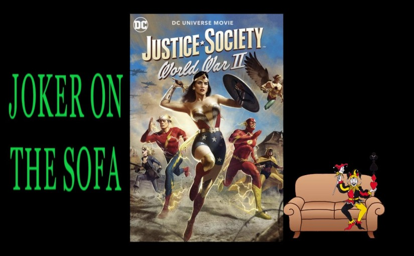Justice Society: WWII: Superheroes Kicking Nazi Butt – AmazonReview