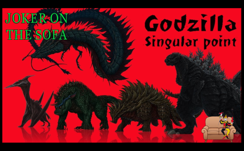 Godzilla: Singular Point: It's Godzilla with Time Travel and Drugs – NetflixReview
